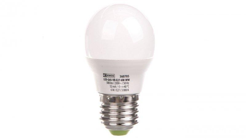 Żarówka LED 6W E27 500lm 3000K MINI GLOBE BASIC ZL3907