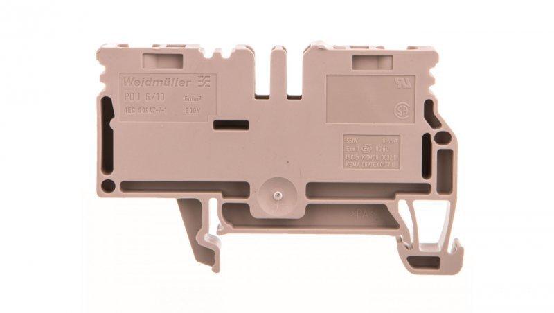 Złączka szynowa 2-przewodowa 6-10mm2 beżowa ATEX PDU 6/10 1896140000