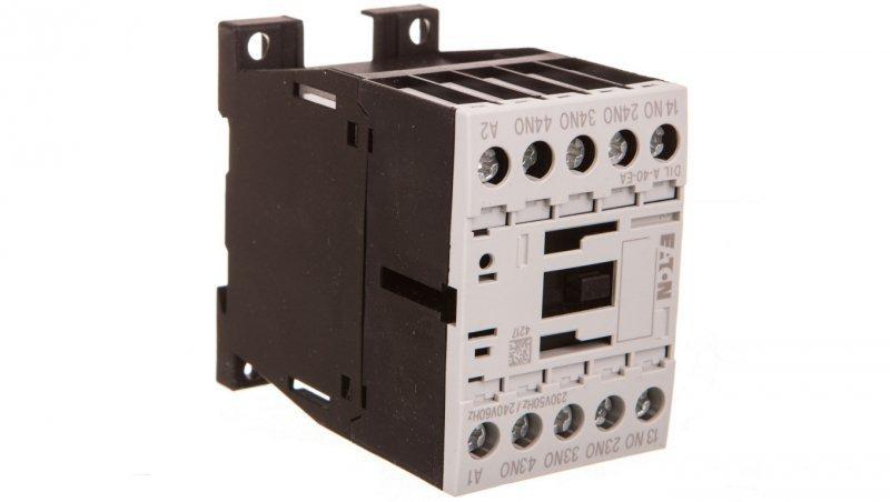 Stycznik pomocniczy 4A 4Z 0R 230V AC DILA-40-EA(230V50HZ,240V60HZ) 189955