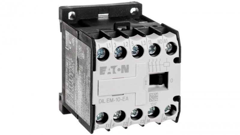 Stycznik mocy 9A 3P 230V AC 1Z 0R DILEM-10-EA(230V50HZ,240V60HZ) 189983