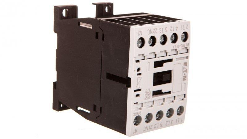 Stycznik mocy 15A 3P 24V DC 0Z 1R DILM15-01-EA(24VDC) 189908