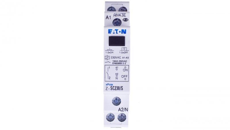 Przekaźnik impulsowy 16A 230V AC 1Z Z-SC230/S 265299