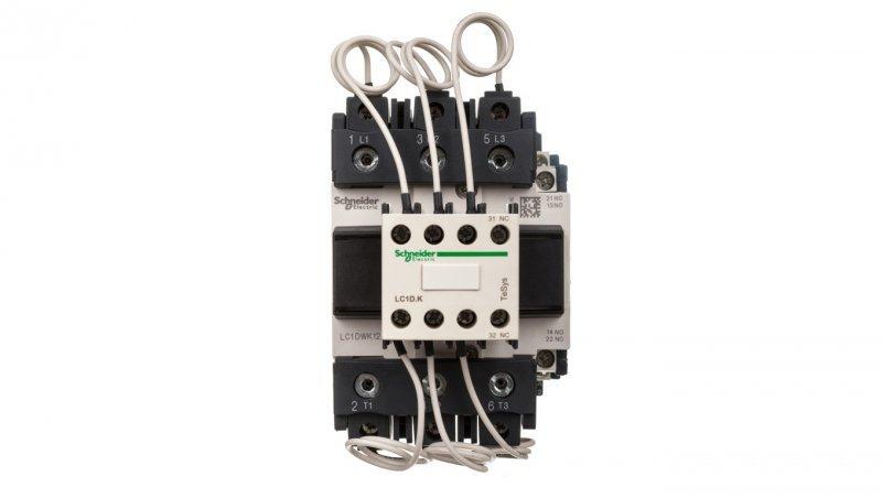 Stycznik do baterii kondensatorowych 3P 60kvar 1Z 2R 230V AC LC1DWK12P7