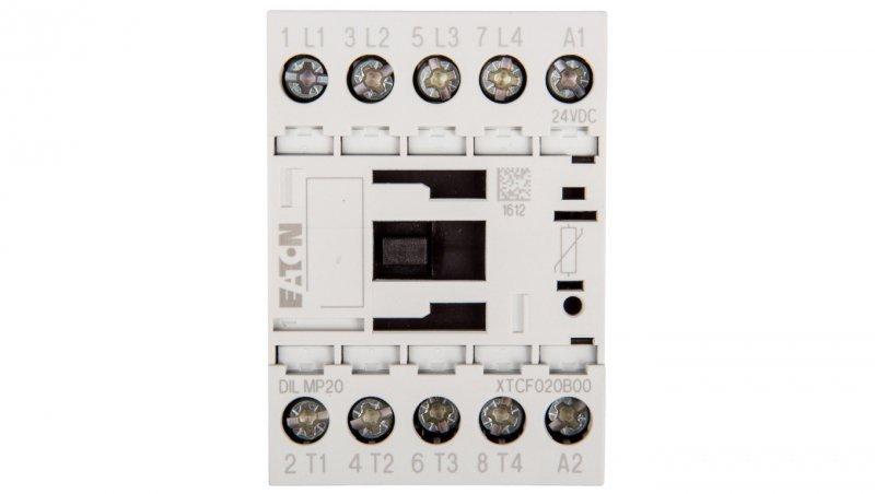 Stycznik mocy 12A 4Z 0R 24V DC 0Z 0R DILMP20(24VDC) 276985