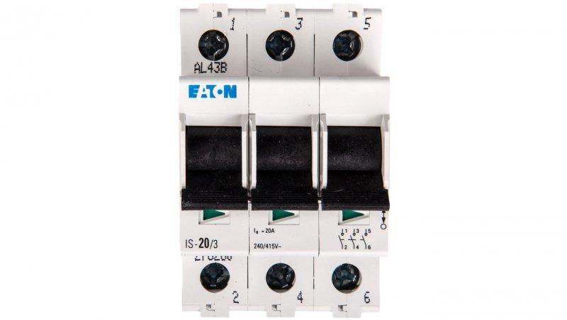 Rozłącznik modułowy 20A 3P IS-20/3 276260