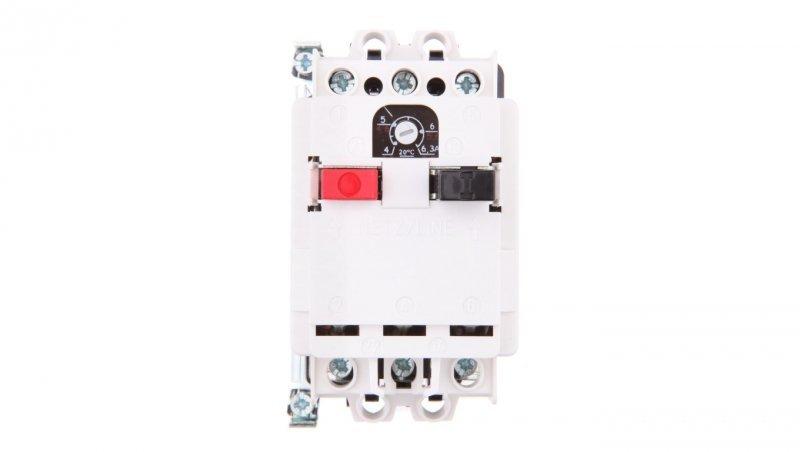 Wyłącznik silnikowy 3P 2,5kW 4-6,3A M 611 N 6,3 6112-370001