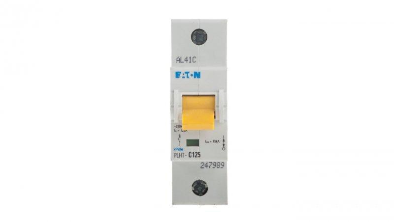Wyłącznik nadprądowy 1P C 125A 25kA AC PLHT-C125 247989