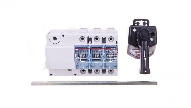 Rozłącznik izolacyjny 3P 100A VISTOP /napęd boczny czarny/ 022525