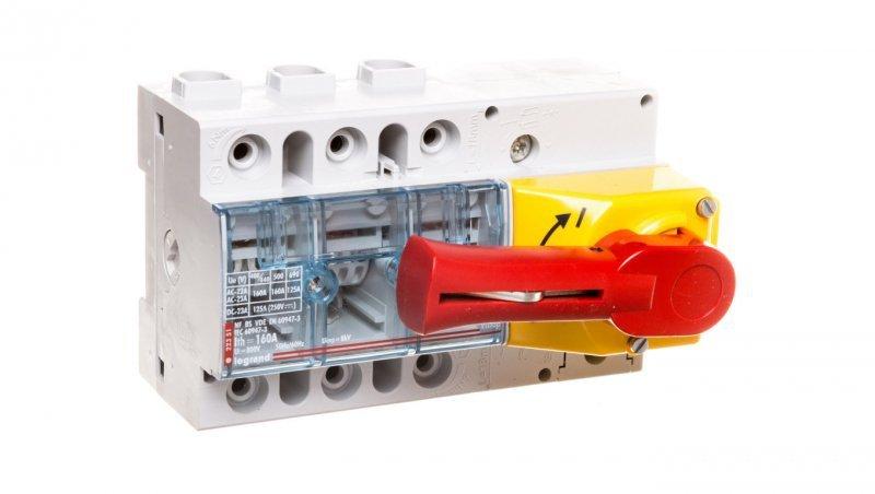 Rozłącznik izolacyjny 3P 160A VISTOP /napęd frontowy czerwony/ 022351