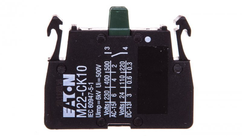 Styk pomocniczy 1Z 0R montaż czołowy M22-CK10 216384