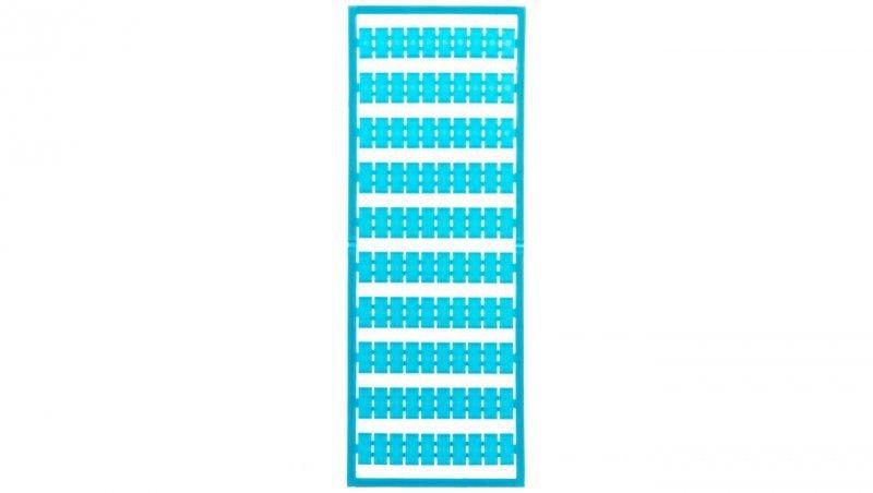 Ramka z oznacznikami bez nadruku niebieska 209-501/000-006