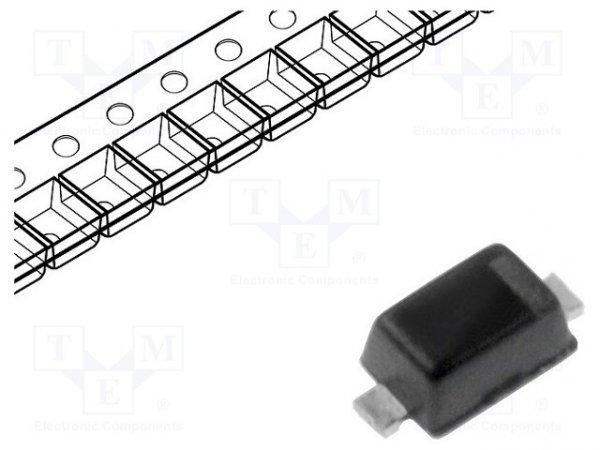 Dioda: przełączająca; SMD; 300V; 250mA; 50ns; SOD523; Ufmax: 0,95V