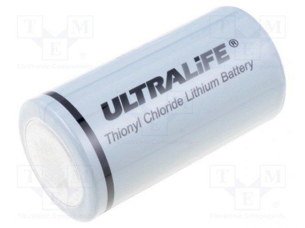 Bateria: litowa; 3,6V; C; Ø26,2x50mm; 9000mAh; nieładowalna
