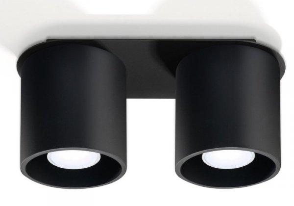 Plafon ORBIS 2 Czarny