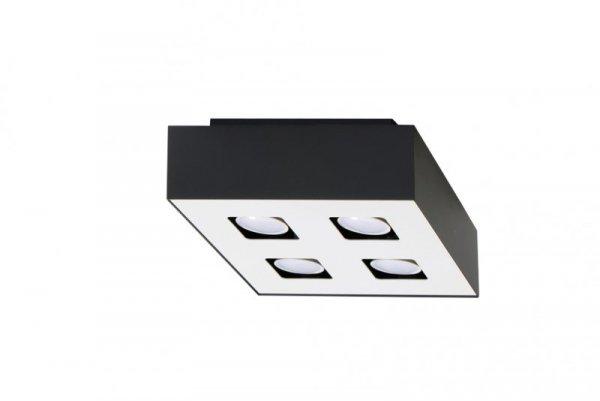 Plafon MONO 4 Czarny