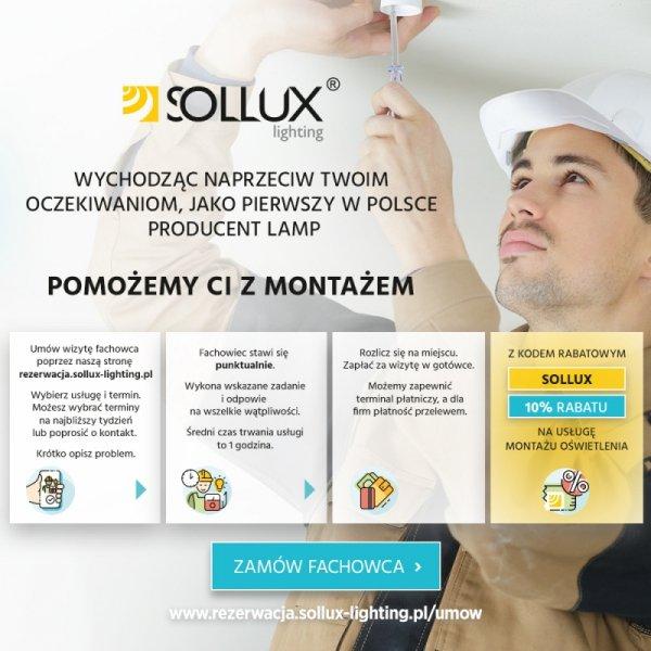 Plafon LOBO MAXI Szary
