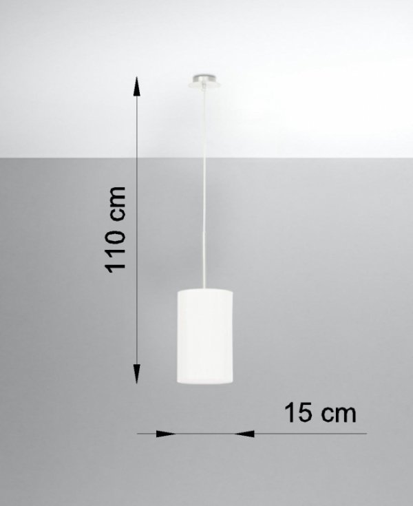 Żyrandol OTTO 15 biały