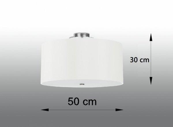 Plafon OTTO 50 biały