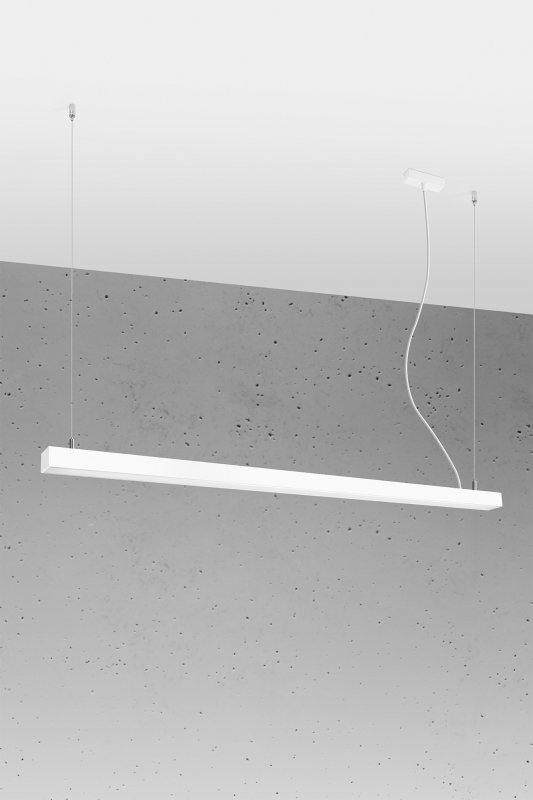 Lampa wisząca PINNE 150 biała 4000K