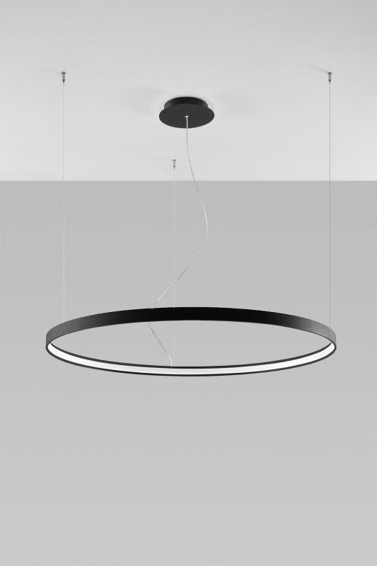 Żyrandol RIO 110 czarny LED 3000K