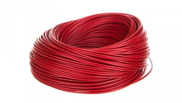 Przewód instalacyjny H05V-K 0,5 czerwony 29085 /100m/