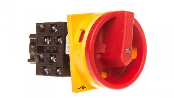 Łącznik krzywkowy 0-1 3P+N 20A do wbudowania T0-3-15680/EA/SVB 038875