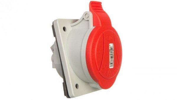 Gniazda tablicowe skośne 5P 32A 400V czerwone GTS 32/5 IP-44 921825