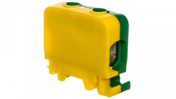Złączka szynowa 1-przewodowa 50mm2 żółto-zielona ZGG1x1,5-50z-g 84285009