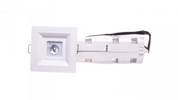 Oprawa LOVATO P LED 3W (opt. otwarta) 1h jednozadaniowa autotest biała LVPO/3W/B/1/SE/AT/WH
