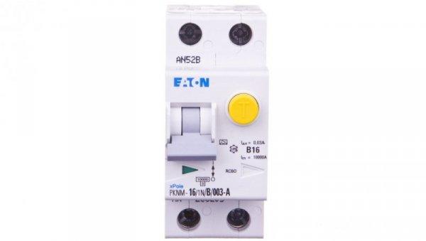 Wyłącznik różnicowo-nadprądowy 2P 16A B 0,03A typ A PKNM 16/1N/B/003-A 236205
