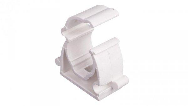 Uchwyt zamknięty do rur 16mm biały UZ 16 10181 /100szt./