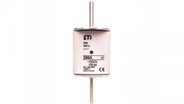 Wkładka bezpiecznikowa KOMBI NH3C 200A gG 500V WT-3C 004186217
