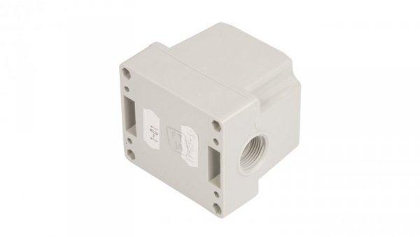 Kaseta sterownicza 1-otworowa przyciskiem zielony 1Z IP65 1-dławnica M20 ST22K101-1