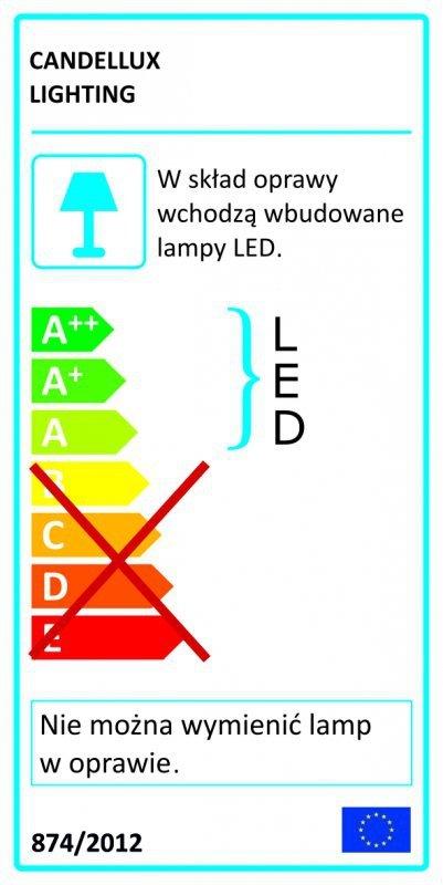 FORMA KINKIET NA WYSIĘGNIKU 1X4W LED CHROM