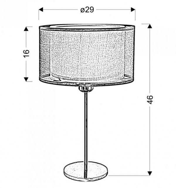 SOLO LAMPKA 3X40W E14CHROM