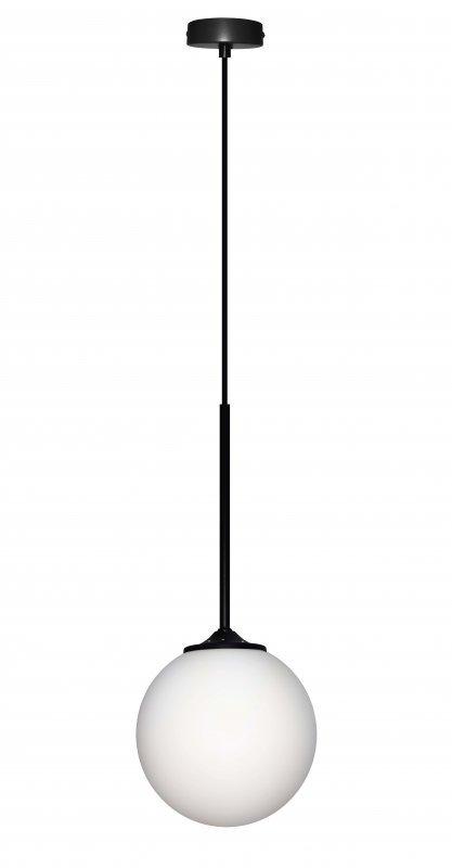 GLASGOW LAMPA WISZĄCA 1X40W E27 CZARNY