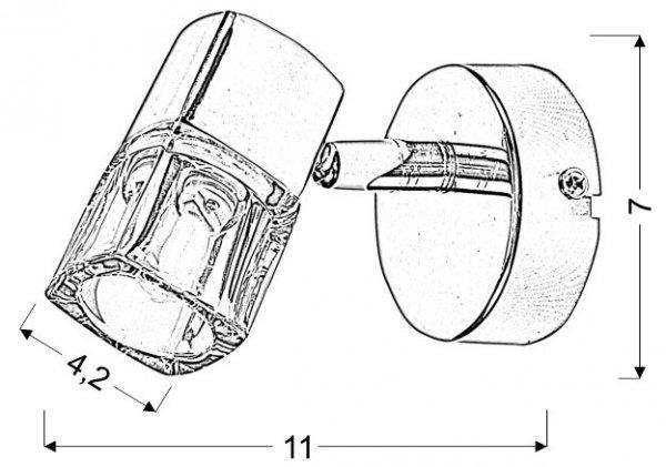 DIAMENT SPOT 1X40W G9