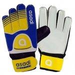 Rękawice Asadi Junior żółty 5
