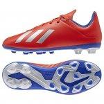 Buty adidas X 18.4 FXG J BB9379 czerwony 38