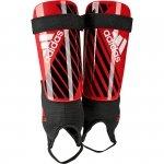 Nagolenniki adidas X Club DN8614 czerwony L