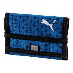 Portfel Puma Beta Wallet 075619 02 niebieski one size