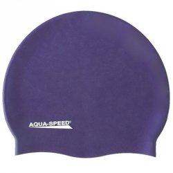 Czepek Aqua-Speed silikon Mega senior fioletowy