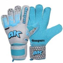 Rękawice 4keepers Champ Astro IV HB + płyn czyszczący niebieski 9,5