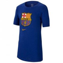 Koszulka Nike FC Barcelona B NK Tee Evergreen Crest CD3199 455 XS (122-128cm) niebieski