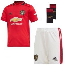 Komplet adidas Manchester United FC Home Mini DX8950 czerwony 92 cm
