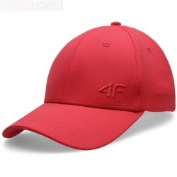 Czapka z daszkiem 4F H4L20-CAD005 62S czerwony L/XL