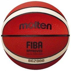 Piłka Molten B6G2000 FIBA 6 pomarańczowy