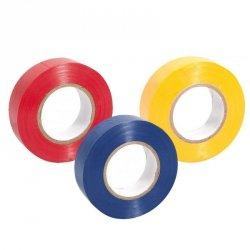 Tape zabezpieczający Select 1.9 cm żółty one size czerwony