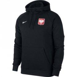 Bluza Nike Poland Hoodie CI8445 010 czarny XXL
