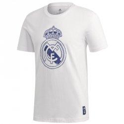Koszulka adidas Real Madryt DNA GR Tee GH9987 M biały